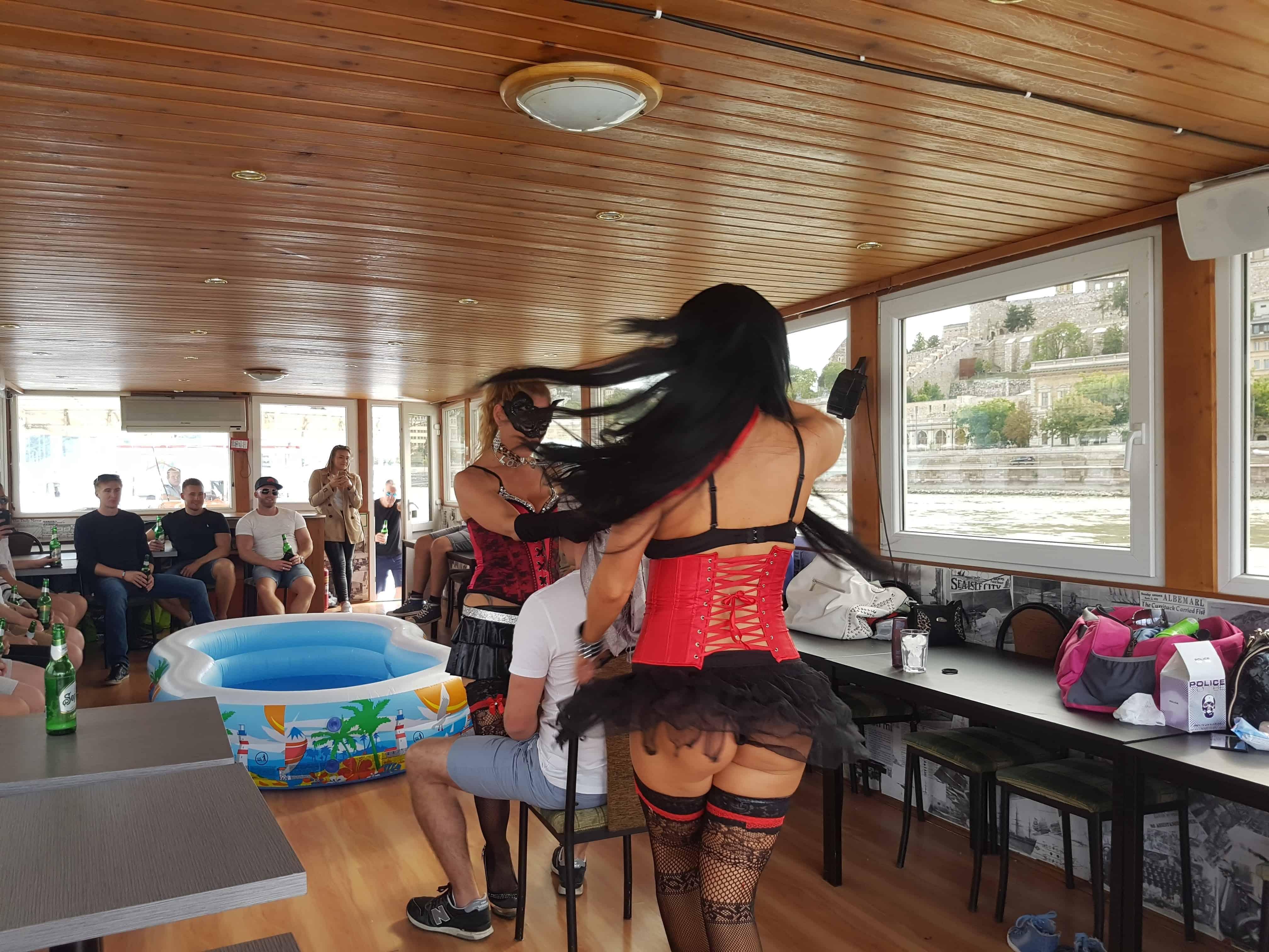 Lesbian oil wrestling