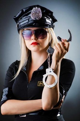 Policewoman Prank