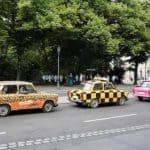 Trabant driving